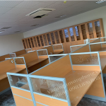 Thi công vách ngăn gỗ kính ngân hàng Liên Việt Phú Thọ